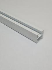 Верхняя направляющая для двери-гармошка, длина 260 см, цвет Ясень серый