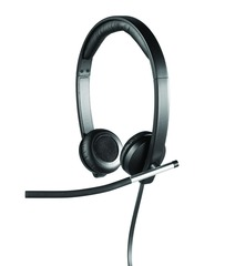 LOGITECH H650e Dual USB Wired Headset [981-000519]