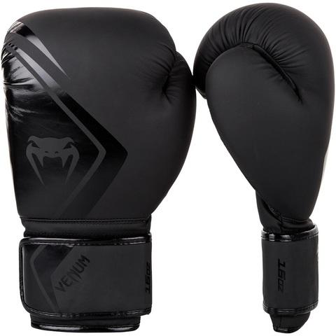 Перчатки для бокса Venum Contender 2.0 Boxing Gloves - Black/Black