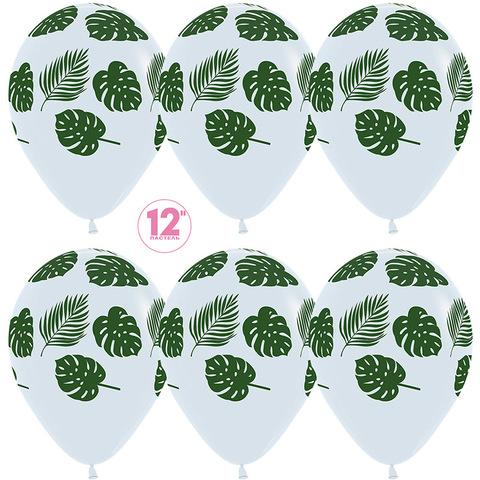 Воздушные шары Зеленые листья