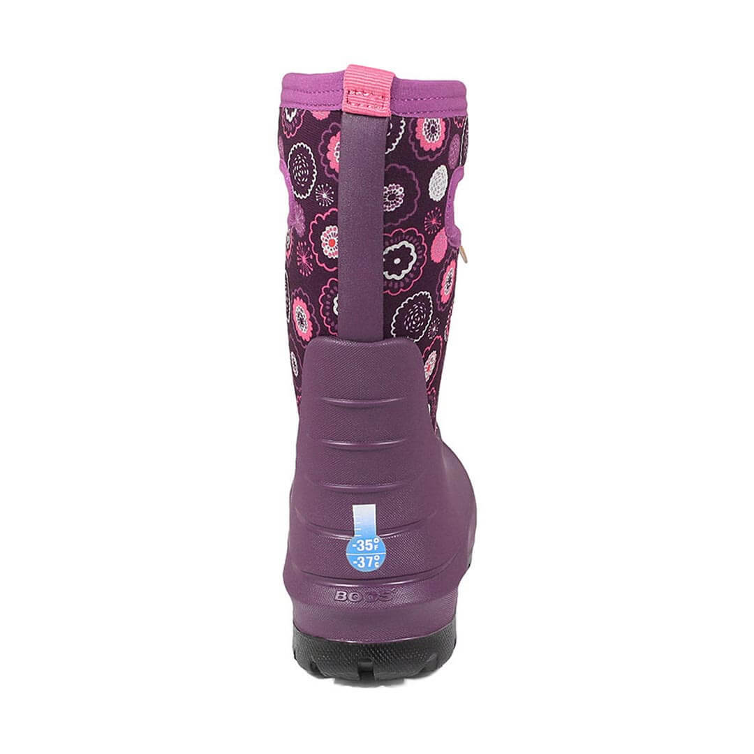 Сапоги детские Bogs Neo-Classic Bullseye Purple Multi