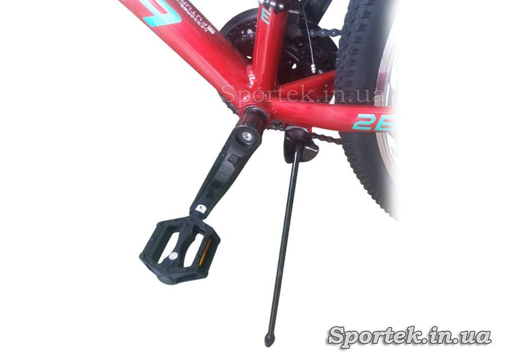Педаль та підніжка велосипеда Formula Mystique 1.0 AL AM DD 2020