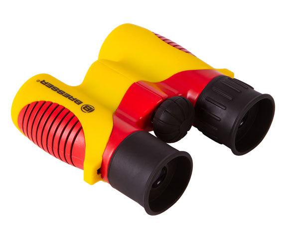 Бинокль детский Bresser Junior 6x21 желтый - фото 5