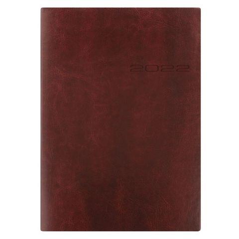 Ежедневник Letts Lecassa A5 (412 160080) кремовые стр гибкая обложка коричневый