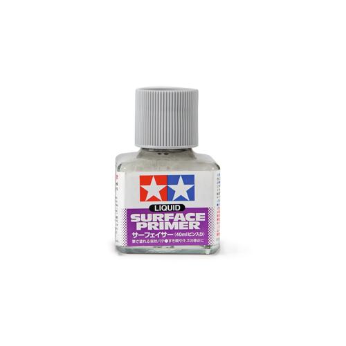 Грунты для аэрографа Tamiya Liquid Surface Primer Gray, Грунт жидкий Серый, 40 мл 87075.jpg