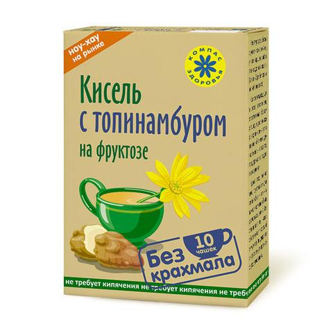 Компас здоровья кисель овсяно-льняной с топинамбуром 150 г