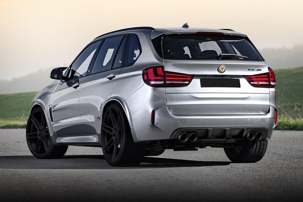 Карбоновый диффузор Variant 3 для BMW X5M F85