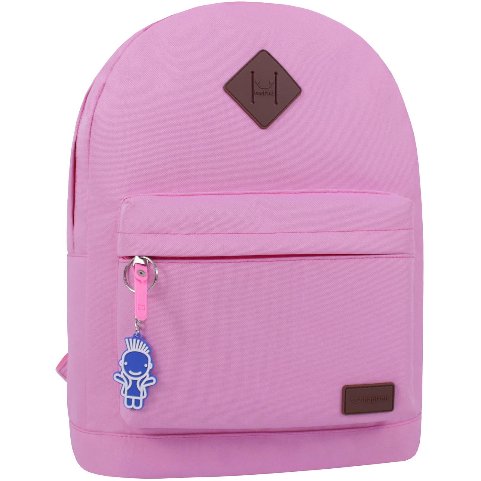 Рюкзак Bagland Молодежный W/R 17 л. розовый (00533662) фото 1