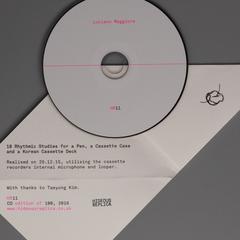 18 Rhythmic Studies for a Pen, a Cassette Case and a Korean Cassette Deck