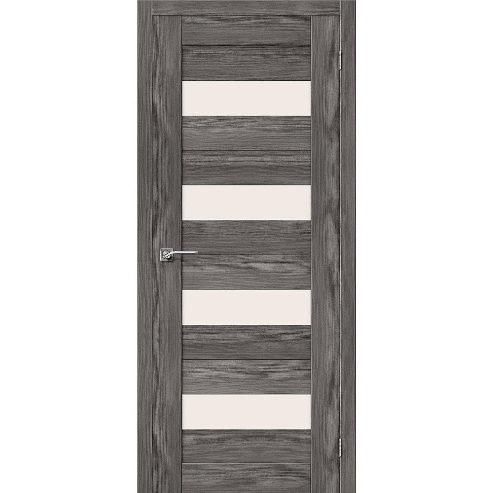 El Porta Межкомнатная дверь экошпон El Porta Порта-23 grey veralinga остеклённая eko-porta-23-grey-veralinga-magic-fog_3.jpg