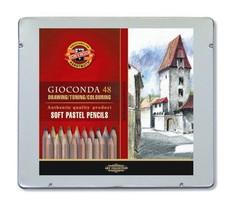 Карандаши пастельные GIOCONDA SOFT 8829, 48 цветов