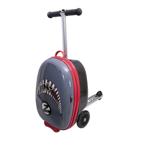 Самокат-чемодан Flyte - Акула, Zinc