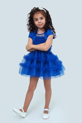 Платье детское + болеро (артикул 1Н56-2)