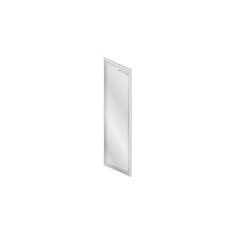 GrO-04.1 Дверь стеклянная в рамке МДФ (45x2x140см)