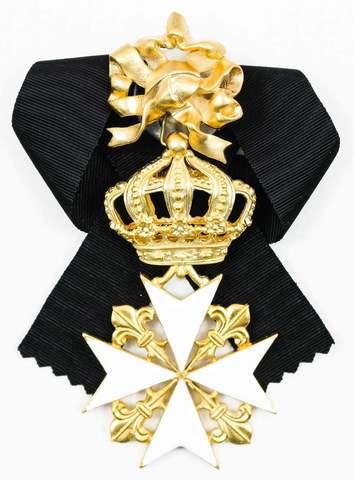 Орден св.Иоанна Иерусалимского с бантом (копия)