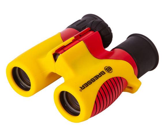 Бинокль детский Bresser Junior 6x21 желтый - фото 6 - регулировка межзрачкового расстояния