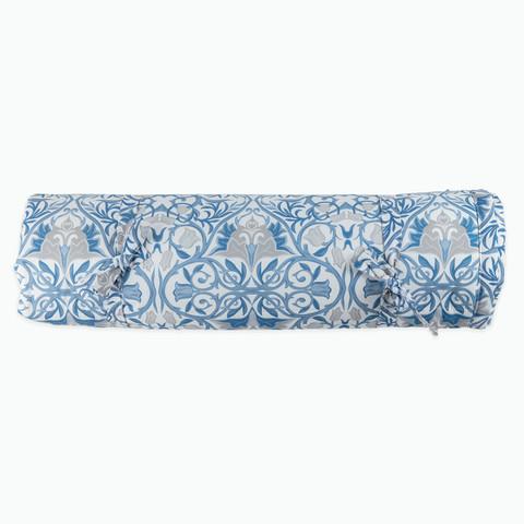Плед декоративный 150*210 см синий( принт 155-02) Adili