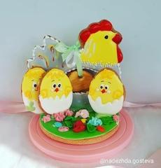 Курочка с яйцом №1