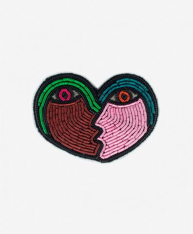 Брошь Love Heart