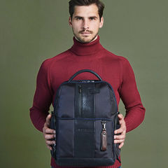 Рюкзак Piquadro Brief CA4439BRBM/N черный натур.кожа/ткань