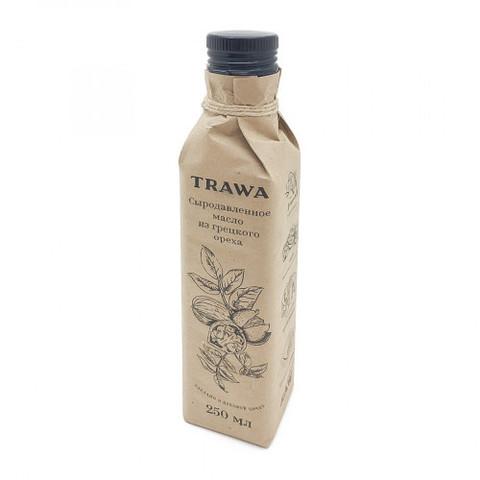 Масло сыродавл из грецкого ореха TRAWA 250мл