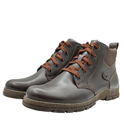 681416 ботинки мужские коричневые. КупиРазмер — обувь больших размеров марки Делфино