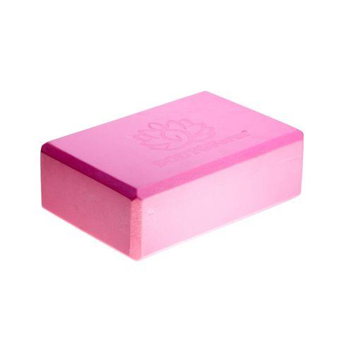 Блок для йоги BF-YB02 (розовый) размер: 225 х 150 х 75 мм