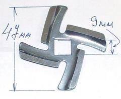 Нож для мясорубки (PANASONIC, BRAUN, VITEK)
