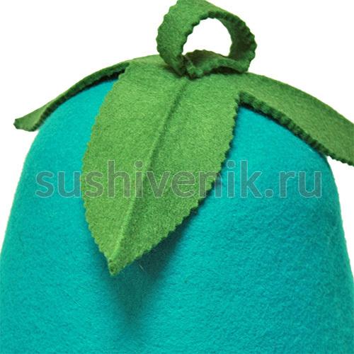 Фетровая шапка для бани Колокольчик
