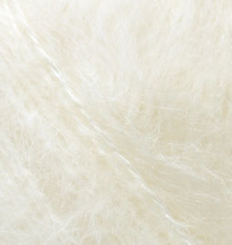 Купить Пряжа Alize Mohair Classic New Код цвета 1 | Интернет-магазин пряжи «Пряха»