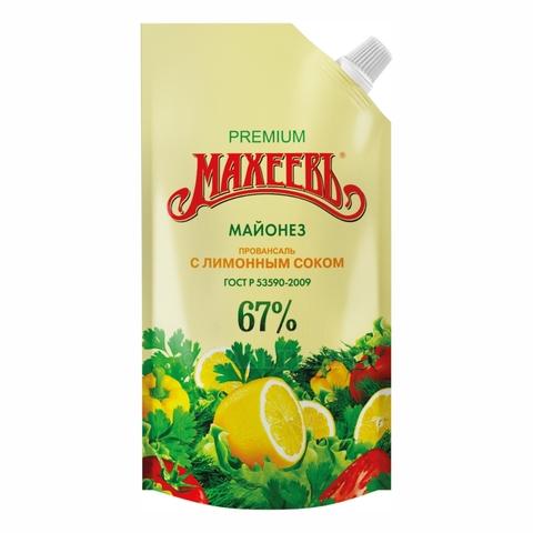 Майонез МАХЕЕВЪ Провансаль с лимонным соком 380 г ДП ДЗ РОССИЯ