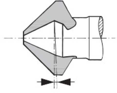 Прецизионная зенковка 90° TiCN
