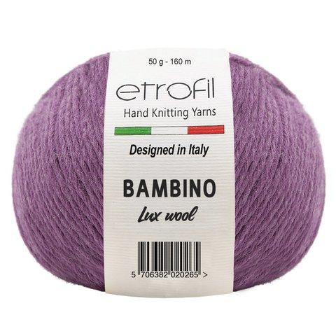 Bambino Lux Wool ETROFIL (60% шерсть мериноса , 40% акрил, 50гр/160 м)