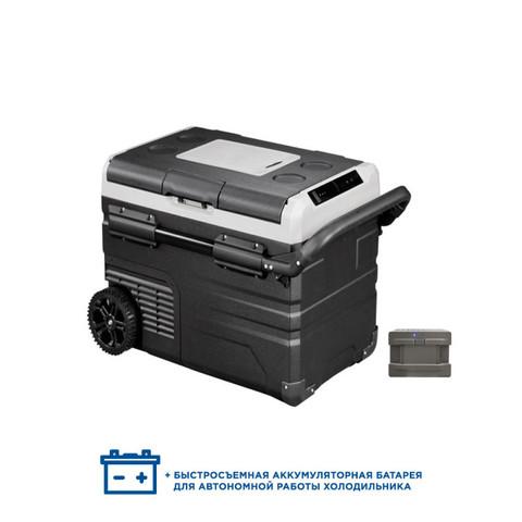 Компрессорный автохолодильник Alpicool ETWW45 (Двухкамерный, 12/24/110/220V, 45л)