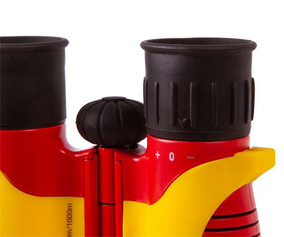 Бинокль детский Bresser Junior 6x21 желтый - фото 8 - коррекция диоптрий