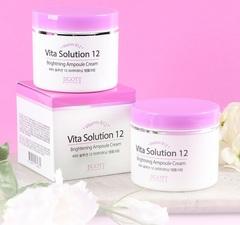 JIGOTT Vita Solution 12 Ампульный крем для улучшения цвета лица, 100мл