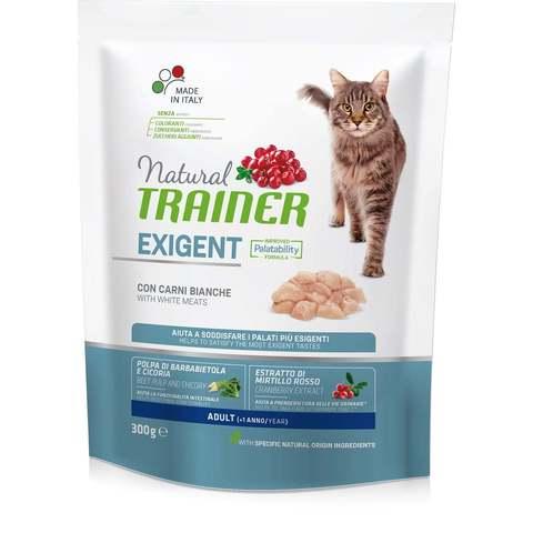 Сухой корм Trainer Natural Exigent Cat with Fresh White Meats