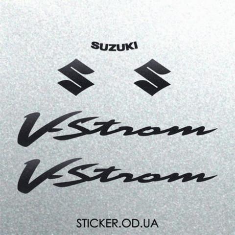 Набор наклеек на мотоцикл Suzuki DL650/1000 V-Strom