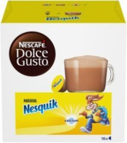 Какао в капсулах Nescafe Dolce Gusto Nesquik (16 капс.)