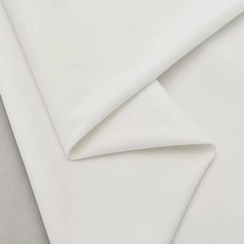 Бархат матовый стрейч, ворс 0,5 мм., белый (выбрать  размер)