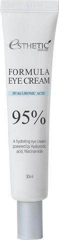 Крем для глаз ГИАЛУРОНОВАЯ КИСЛОТА Formula Eye Cream Hyaluronic Acid 95%, 30 мл, ESTHETIC HOUSE