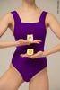 Купальник Квадрат colour | фиолетовый