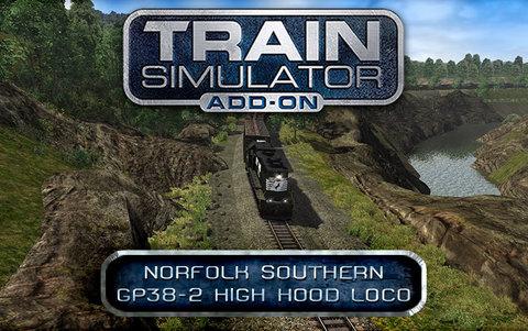 Train Simulator: Norfolk Southern GP38-2 High Hood Loco Add-On (для ПК, цифровой ключ)