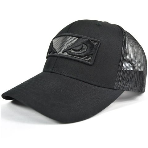 Бейсболка/Кепка Bad Boy Carbon Cap Black/Black