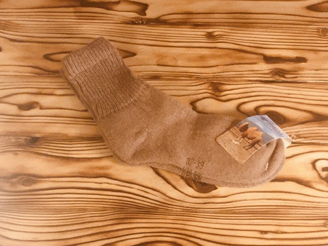 Носки из верблюжьей шерсти / р. 37-39 (Коричневые) фото1