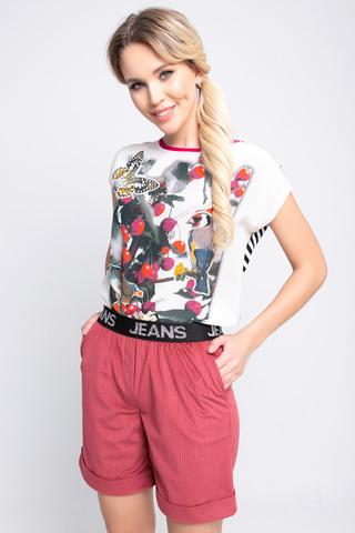 Шорты вельвет (сакура). <p>Классные модные шорты удобного кроя на резинке!</p>