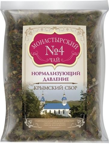 Чай Монастырский №4 нормализующий давление, 100 гр. (Крымский сбор)