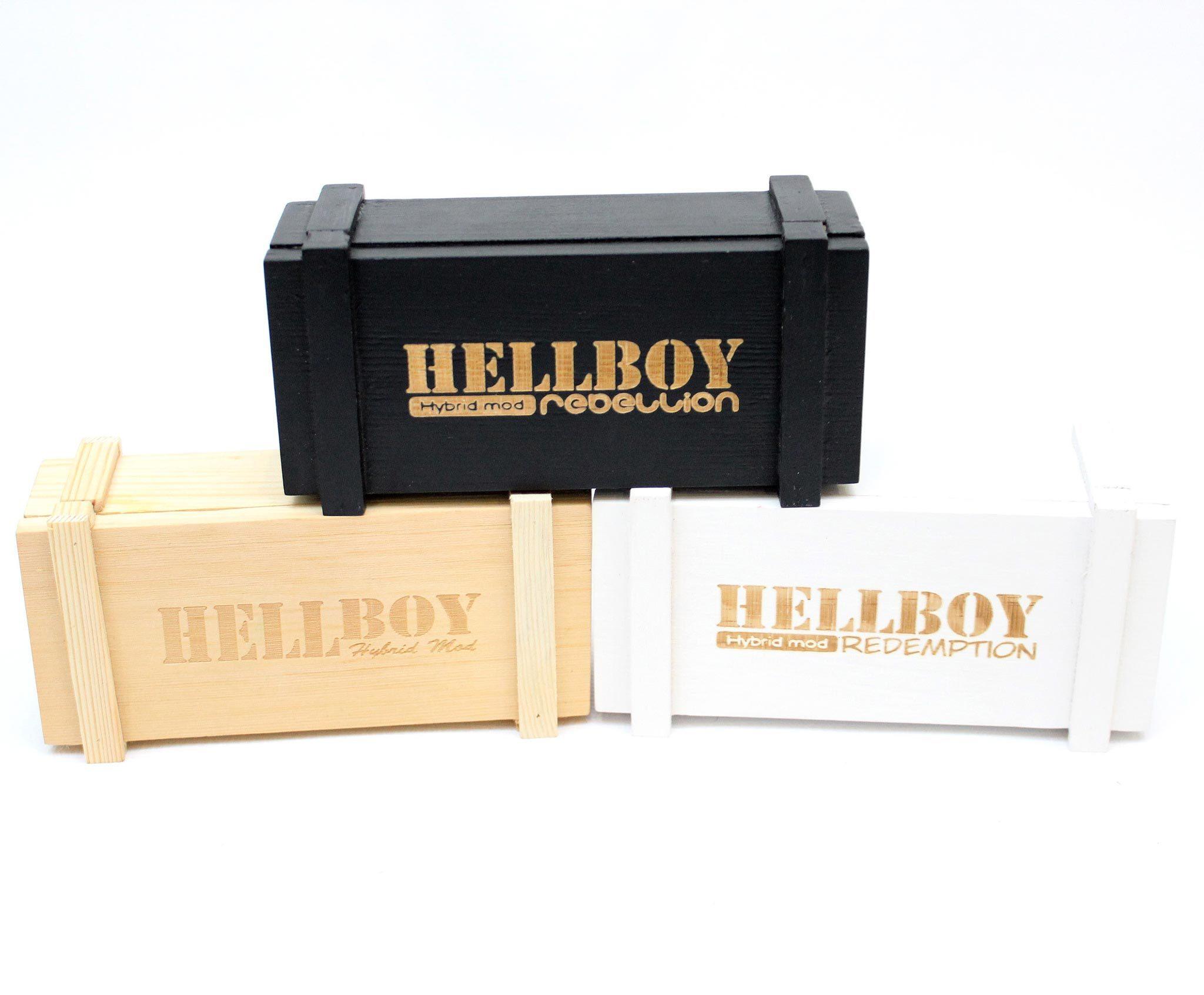 Мехмод Hellboy Authentic коробка