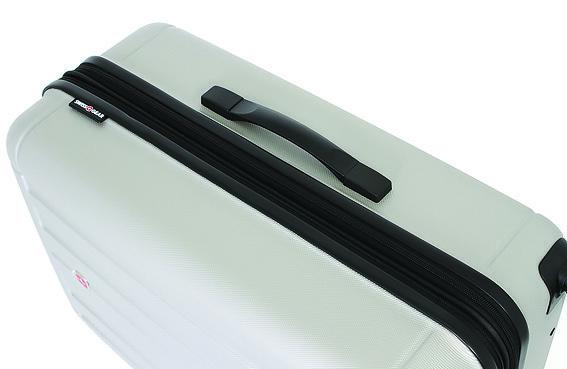 Чемодан SWISSGEAR USTER, цвет серебристый, 47x29x69 см, 94 л (6297404177)