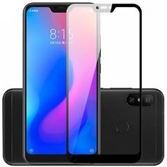 Защитное стекло 2.5D Xiaomi Mi A2 Lite (Redmi 6 Pro)  (Черное)